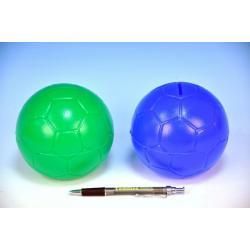 Pokladnička Míč Tango plast 11cm asst 2 barvy 12m+