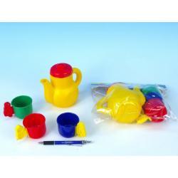 Nádobí - Čajová sada plast v sáčku 20x13x5xcm