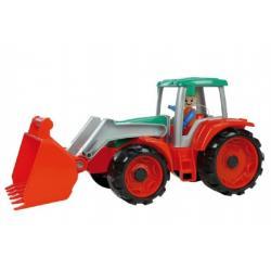 Auto Truxx traktor nakladač s figurkou plast 35cm 24m+