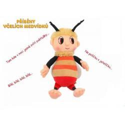 Včelí medvídek Čmelda plyš česky zpívající 29cm na baterie 0+
