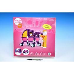 Stavebnice Seva pro holky 1 plast 586ks v krabici 35x33x8cm