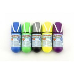 Pokladnička na krk se šňůrkou 11,5cm plast asst 5 barev vodotěsná