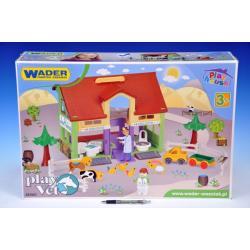 Domeček na hraní - veterinář Wader v krabici