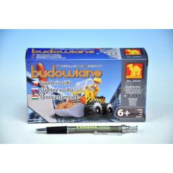 Stavebnice Dromader Auto Bagr 29201 60ks v krabici 16,5x9,5x4,5cm