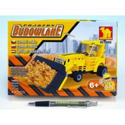 Stavebnice Dromader Auto Bagr 29412 118ks v krabici 22x15x4,5cm