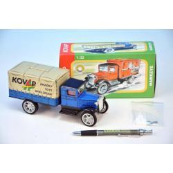 Auto-pokladnička Hawkeye plech 18cm 1:32 v krabičce Kovap