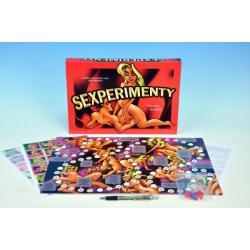 Sexperimenty společenská hra pro dospělé v krabici 33x23x3cm