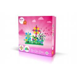 Stavebnice BLOK Flora 1 plast 126ks v krabici 35x33,5x3,5cm