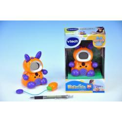 Kidiminiz VTech králíček oranžový česky mluvící na baterie 3xAAA v krabičce 13x19cm