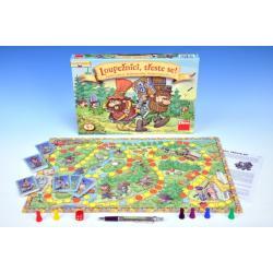 Loupežníci třeste se! společenská hra v krabici 33,5x23x3,5cm