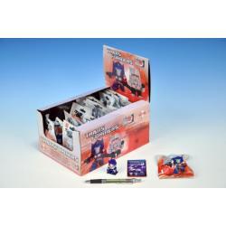 Figurka Transformers 4cm s puzzle kartičkou I. serie asst 15 druhů v sáčku 30ks v boxu