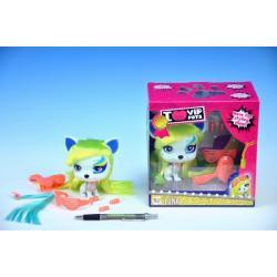 Mazlíček Luna VIP PETS 2. série 11cm  s doplňky v krabičce